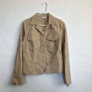 CAbi Beige Khaki Jacket Blazer